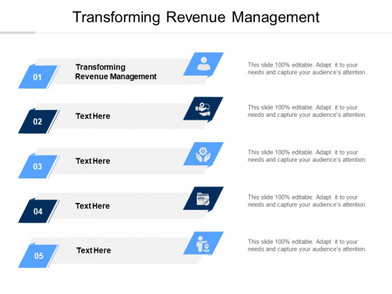 Transforming Revenue Management Ppt PowerPoint Presentation Infographics Graphics Example Cpb Pdf