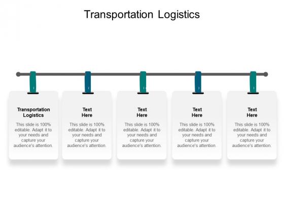 Transportation Logistics Ppt PowerPoint Presentation Summary Graphics Template Cpb Pdf