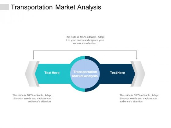 Transportation Market Analysis Ppt PowerPoint Presentation Slides Graphics Template Cpb