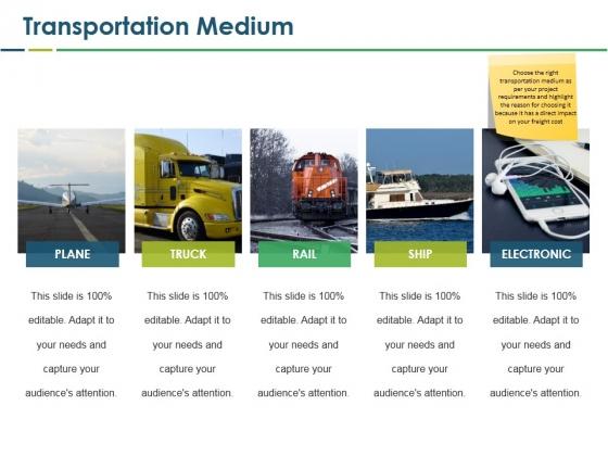 Transportation Medium Ppt PowerPoint Presentation Icon Design Templates