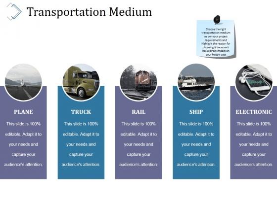 Transportation Medium Ppt PowerPoint Presentation Infographic Template Portrait