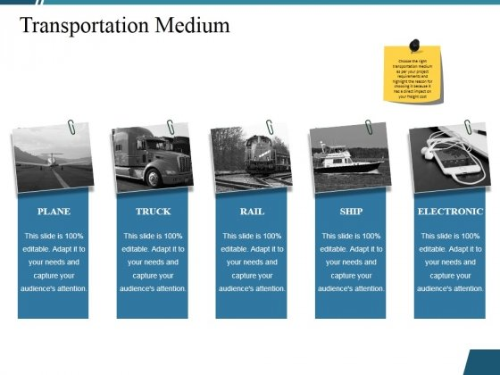 Transportation Medium Ppt PowerPoint Presentation Professional Picture
