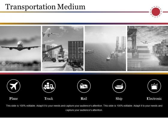 Transportation Medium Ppt PowerPoint Presentation Styles Demonstration
