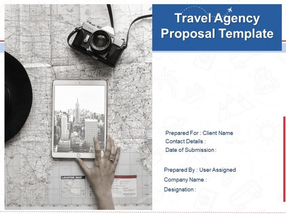 Travel Agency Proposal Template Ppt PowerPoint Presentation Complete Deck With Slides
