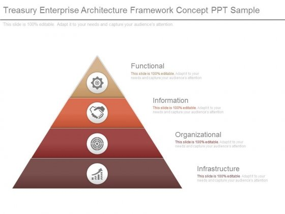 Treasury Enterprise Architecture Framework Concept Ppt Sample