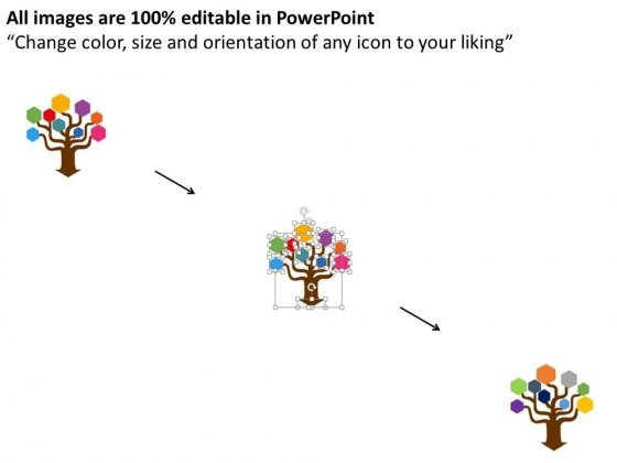 Tree_With_Multiple_Icons_On_Leaves_Powerpoint_Template_2