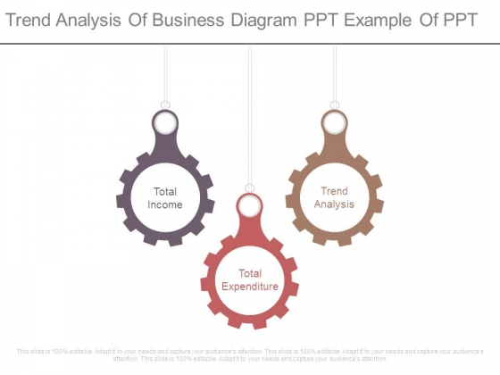 Trend Analysis Of Business Diagram Ppt Example Of Ppt