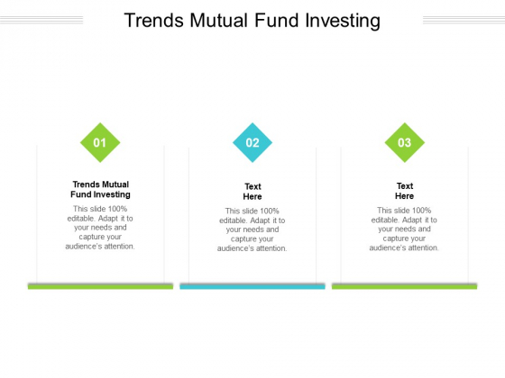 Trends Mutual Fund Investing Ppt PowerPoint Presentation Model Outline Cpb Pdf