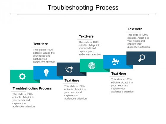 Troubleshooting Process Ppt PowerPoint Presentation Templates Cpb Pdf
