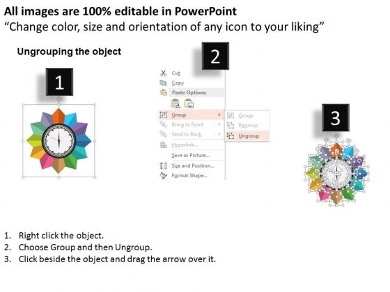 Twelve_Staged_Time_Management_Clock_Diagram_Powerpoint_Template_2