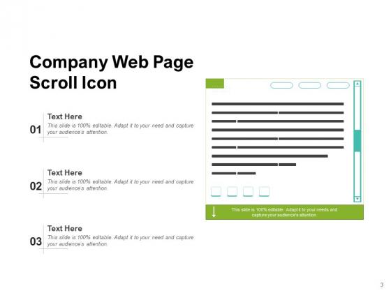 Twirl_Business_Document_Gazette_Scroll_Arrow_Ppt_PowerPoint_Presentation_Complete_Deck_Slide_3