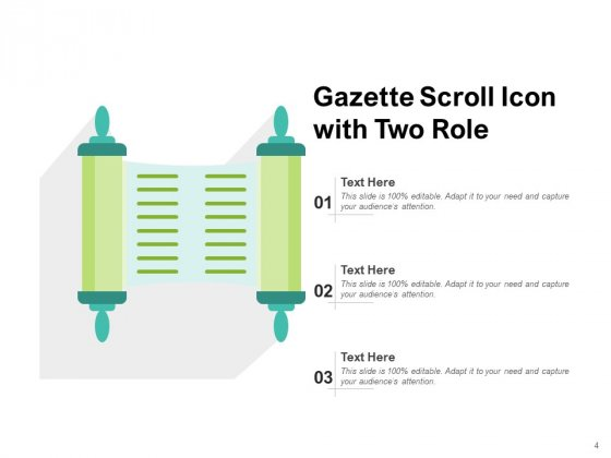 Twirl_Business_Document_Gazette_Scroll_Arrow_Ppt_PowerPoint_Presentation_Complete_Deck_Slide_4
