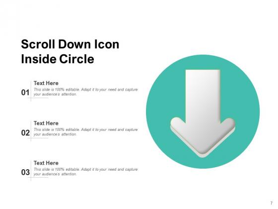 Twirl_Business_Document_Gazette_Scroll_Arrow_Ppt_PowerPoint_Presentation_Complete_Deck_Slide_7