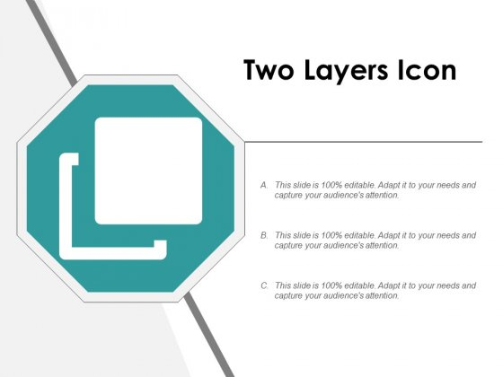 Two Layers Icon Ppt PowerPoint Presentation Infographic Template Images