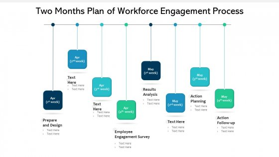 Two Months Plan Of Workforce Engagement Process Ppt Powerpoint Presentation File Structure PDF