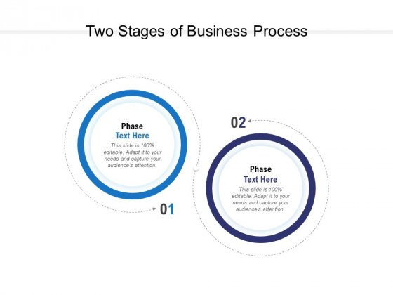 Two Stages Of Business Process Ppt PowerPoint Presentation Outline Maker