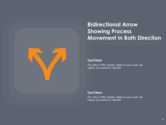 Two_Way_Arrow_Continuous_Movement_Arrows_Ppt_PowerPoint_Presentation_Complete_Deck_Slide_6