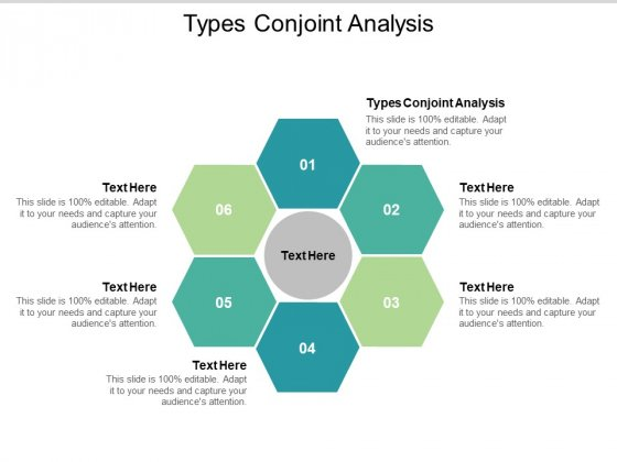 Types Conjoint Analysis Ppt PowerPoint Presentation Ideas Cpb