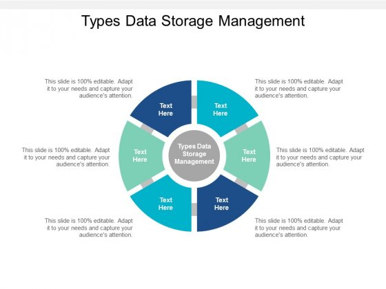Types Data Storage Management Ppt PowerPoint Presentation Infographics Topics Cpb