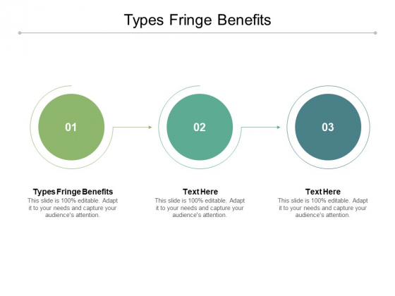 Types Fringe Benefits Ppt PowerPoint Presentation Infographic Template Shapes Cpb