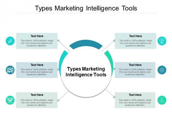 Types Marketing Intelligence Tools Ppt PowerPoint Presentation Model Guide Cpb