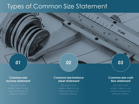 Types Of Common Size Statement Ppt Powerpoint Presentation Pictures Examples
