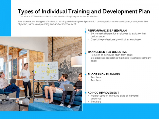 Types Of Employee Training And Development Strategy Ppt PowerPoint Presentation File Brochure PDF