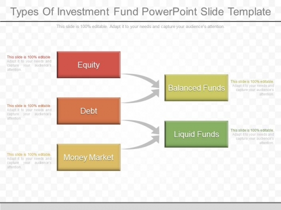 Types Of Investment Fund Powerpoint Slide Template