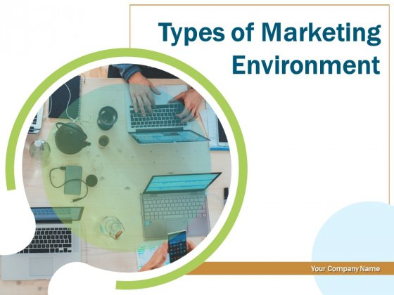 Types Of Marketing Environment Ppt PowerPoint Presentation Complete Deck With Slides