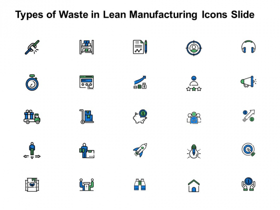 Types_Of_Waste_In_Lean_Manufacturing_Icons_Slide_Growth_Arrow_Ppt_PowerPoint_Presentation_Ideas_Mockup_Slide_1
