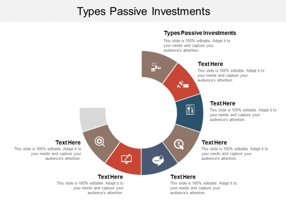 Types Passive Investments Ppt PowerPoint Presentation Layouts Background Image Cpb Pdf