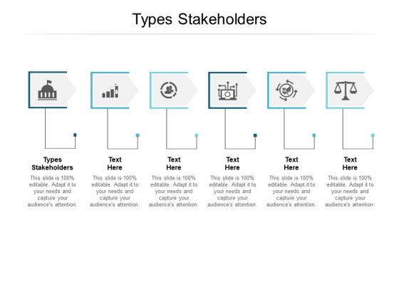 Types Stakeholders Ppt PowerPoint Presentation Slides Maker Cpb