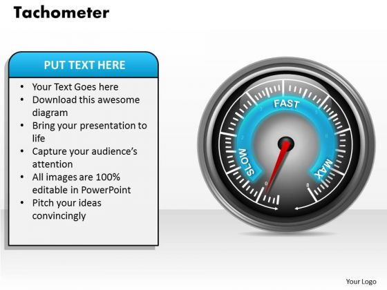Tachometer PowerPoint Presentation Template