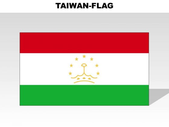 Tajikistan Country PowerPoint Flags