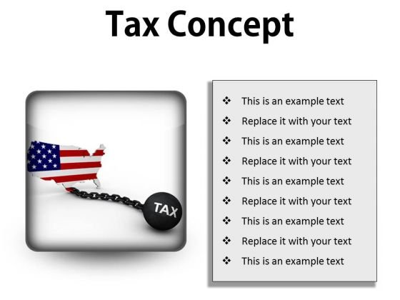 Tax Concept Finance PowerPoint Presentation Slides S