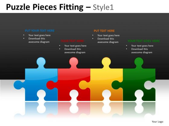 Team Management Line Up Puzzles PowerPoint Slides And Editable Ppt Templates