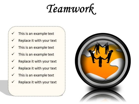 Teamwork01 Business PowerPoint Presentation Slides Cc