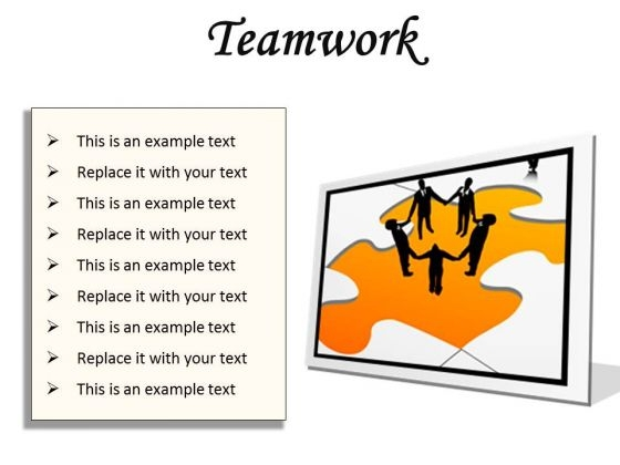 Teamwork01 Business PowerPoint Presentation Slides F