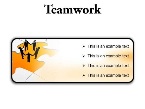 Teamwork01 Business PowerPoint Presentation Slides R