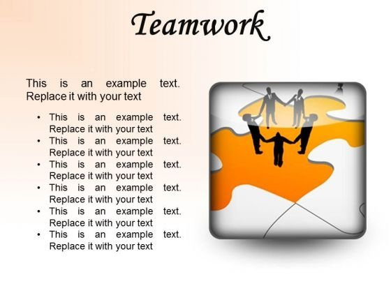 Teamwork01 Business PowerPoint Presentation Slides S
