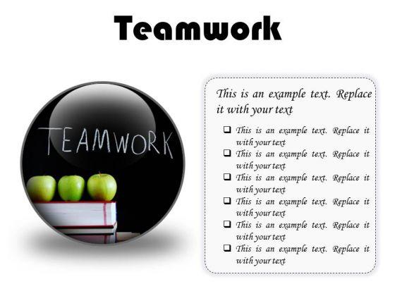 teamwork business powerpoint presentation slides c powerpoint