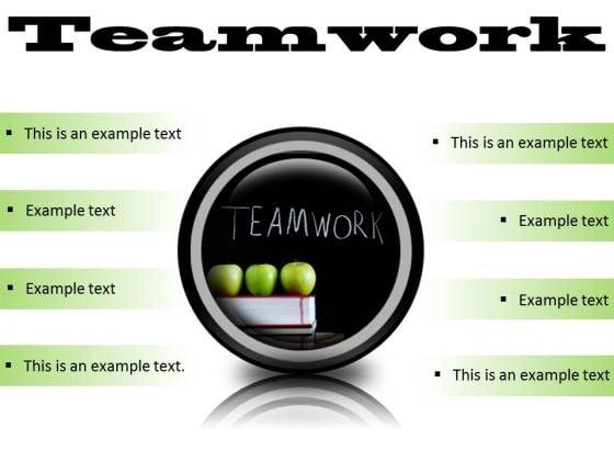 teamwork business powerpoint presentation slides cc powerpoint