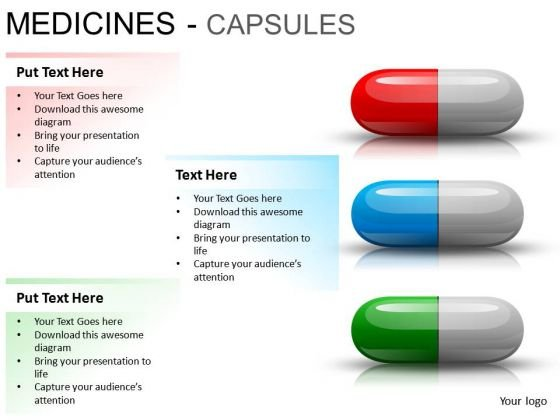 Technology Medical Capsules PowerPoint Slides And Ppt Diagram Templates