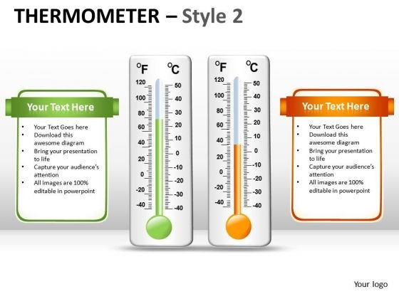 Temperature Environment Thermometer PowerPoint Slides And Ppt Diagram Templates