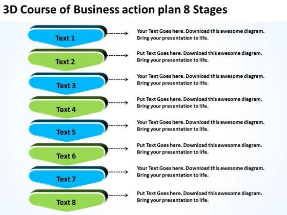 Templates_free_download_action_plan_8_stages_unified_modeling_language_powerpoint_1  Free Action Plan Templates