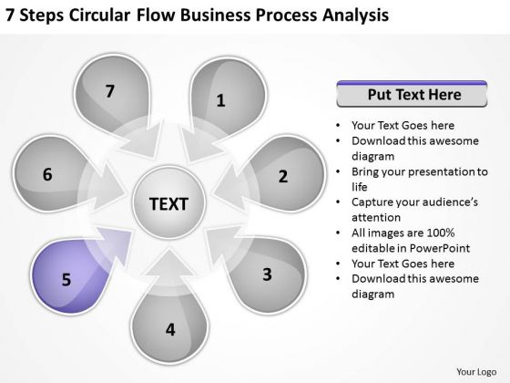 Templates Free Download Process Analysis Business Planning Software PowerPoint Slides