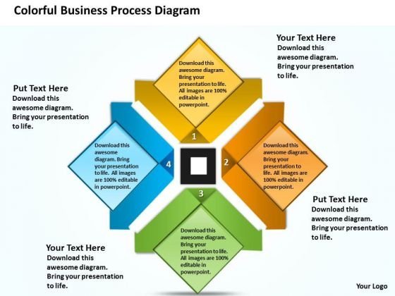 Templates Free Download Process Diagram Cycle Network