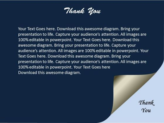 Thank You Business Ppt Slides Presentation Diagrams Templates