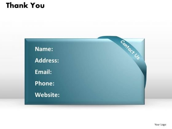 Thank You Details Ppt Slides Presentation Diagrams Templates
