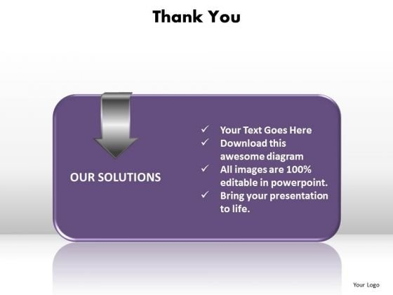 Thank You Our Solutions Ppt Slides Diagrams Templates